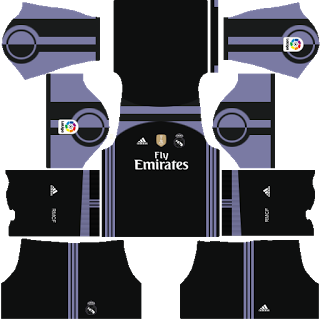 kitsuniformes de real madrid para dream league soccer