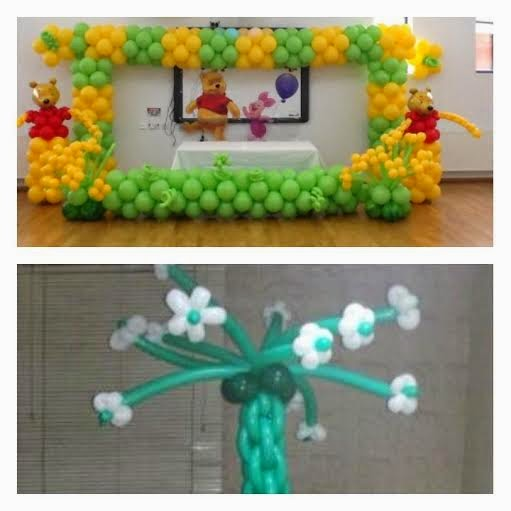Balloon decorations training for Balloon decoration course