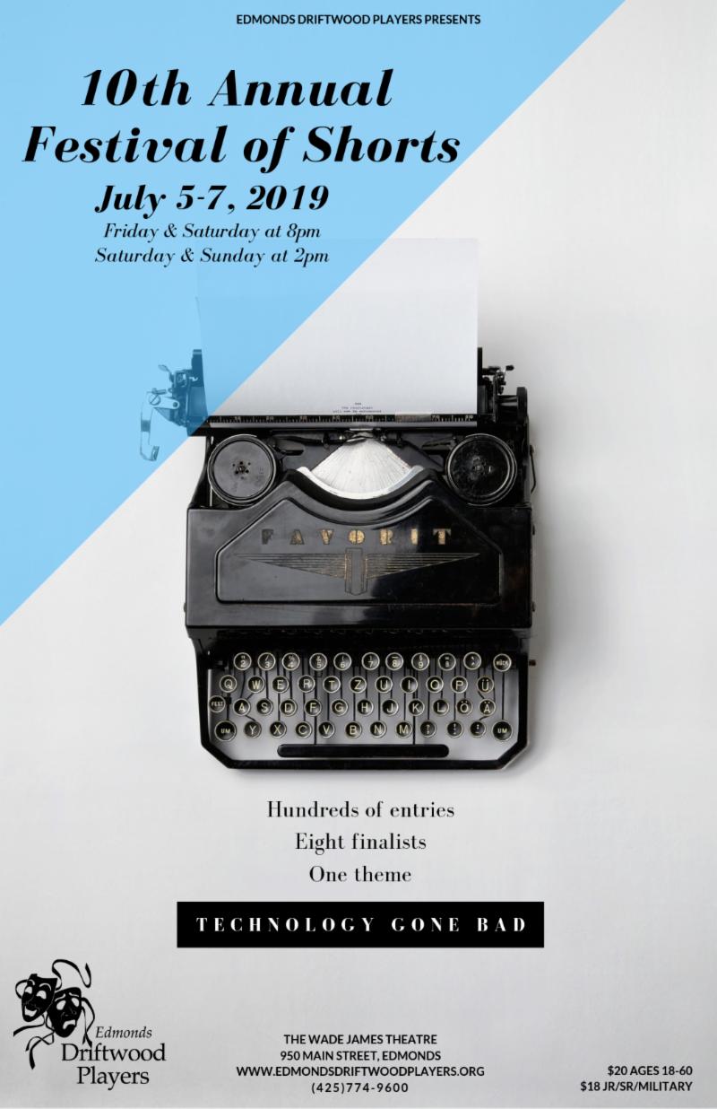 Shoreline Area News: Enter your short play for the Edmonds Annual