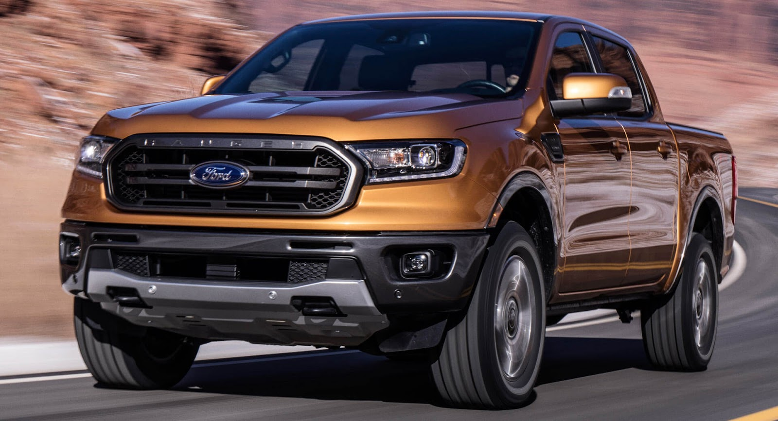 Spec 2019 Ford Ranger unveiled, gets 2.3T with 10-spd auto