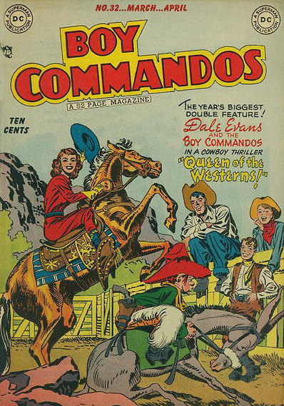 Jack Kirby Boy Commandos