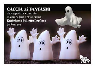 Caccia ai fantasmi di Roma - Visita guidata per bambini in compagnia del fantasma Enrichetto, bulletto perfetto!