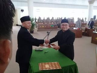 Addinul Ikhsan Jabat Anggota DPRD OI