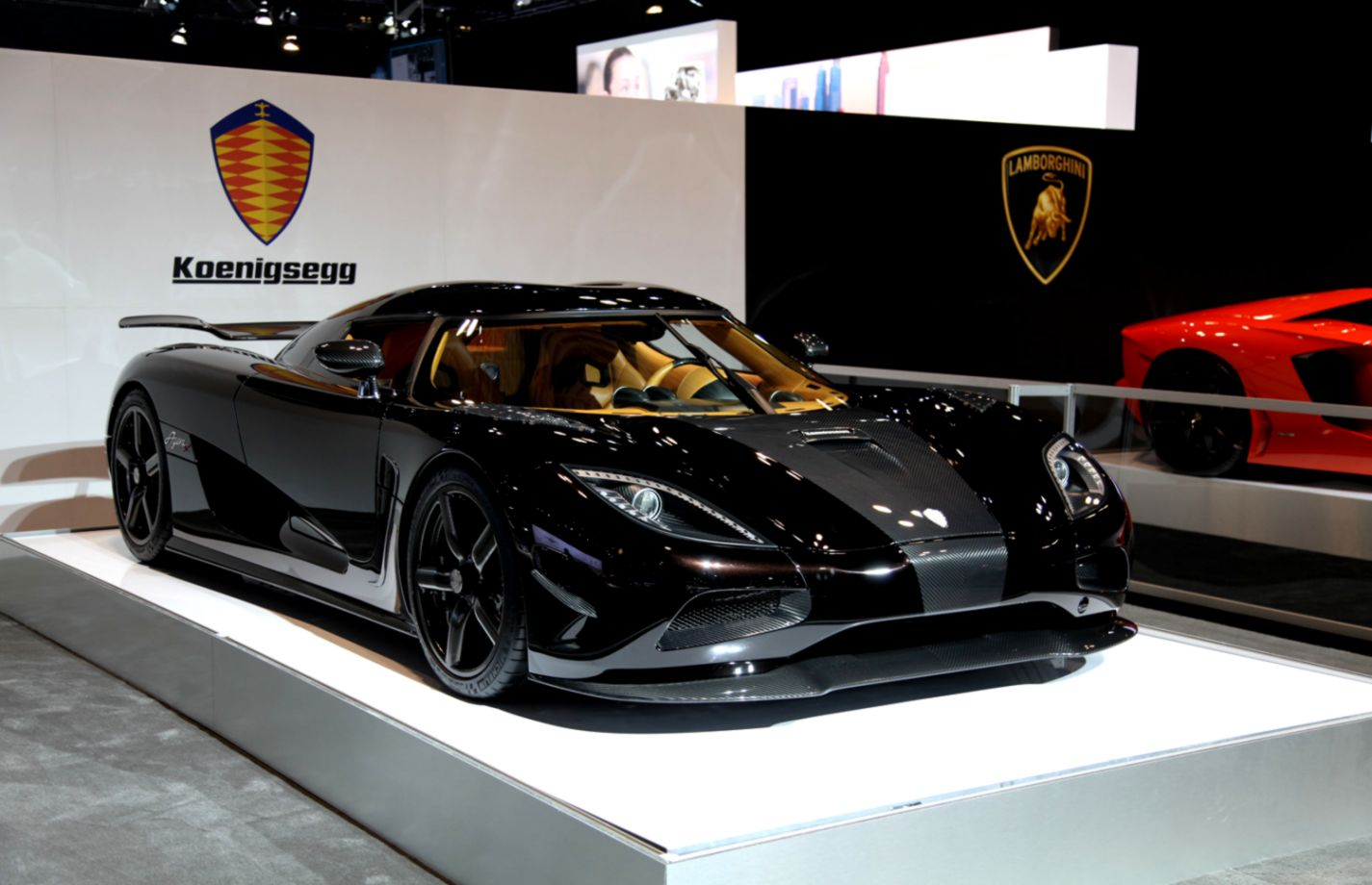 Koenigsegg Agera R Black Wallpapers Master