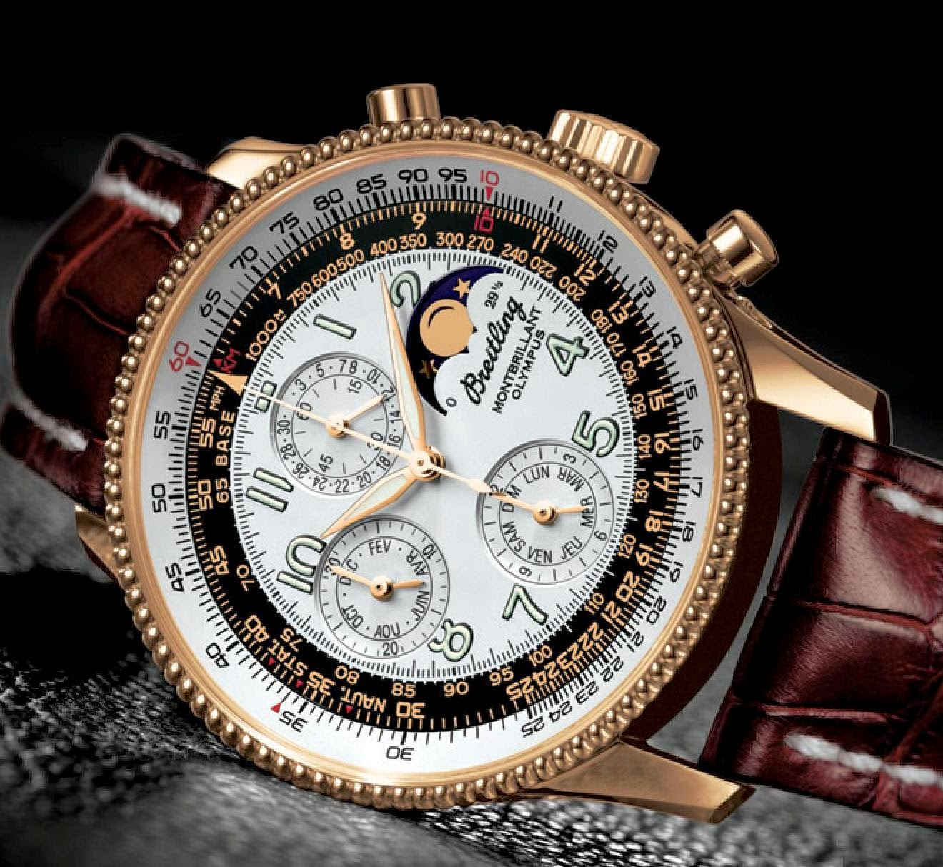 Breitling Montbrillant Olympus Automatic chronograph