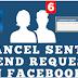 Begini Cara Membatalkan Permintaan Teman Facebook
