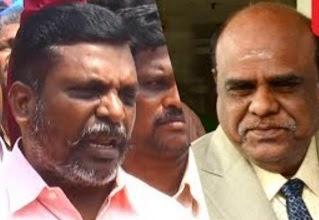 Thiruma on Justice Karnan case