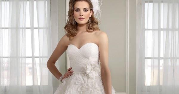 Ball Gown Wedding Dresses: WhiteAzalea Ball Gowns: Tea Length Ball Gown Wedding Dresses