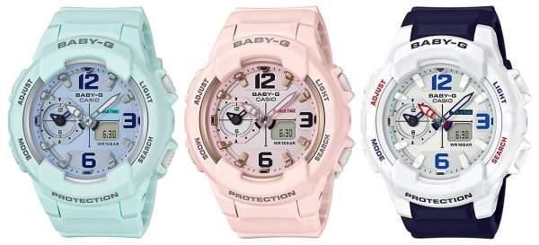 Baby G jam tangan merk Casio untuk wanita