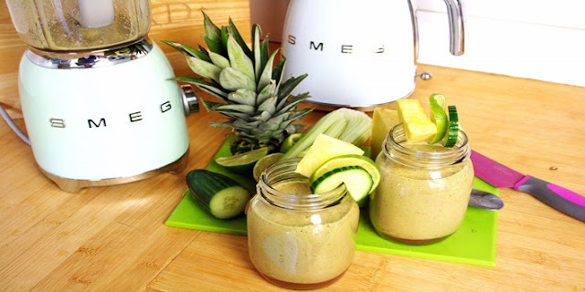 Fat Burning green Smoothie To Lose Weight And Get Flat Belly