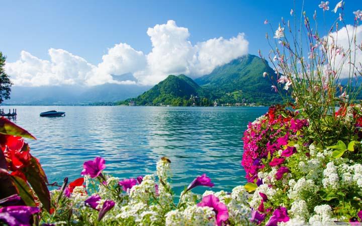yaz manzara resimleri