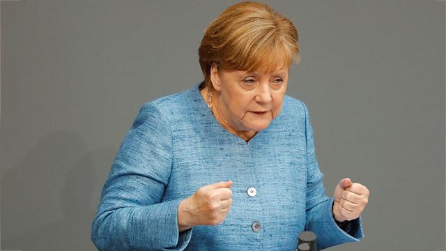 """Merkel: Los aranceles de EE.UU. amenazan con una """"escalada en espiral"""" en el comercio global"""