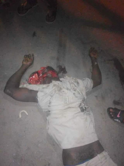 FB IMG 1518682505821 - Black Valentine: Truck crushes two persons to death in Akwa Ibom