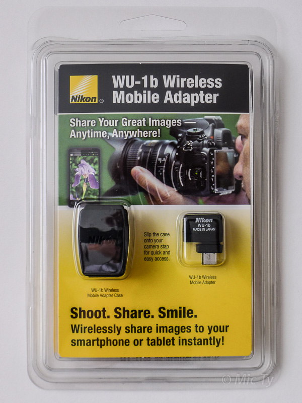 Better Family Photos: Nikon WU-1b Wireless Mobile Adapter