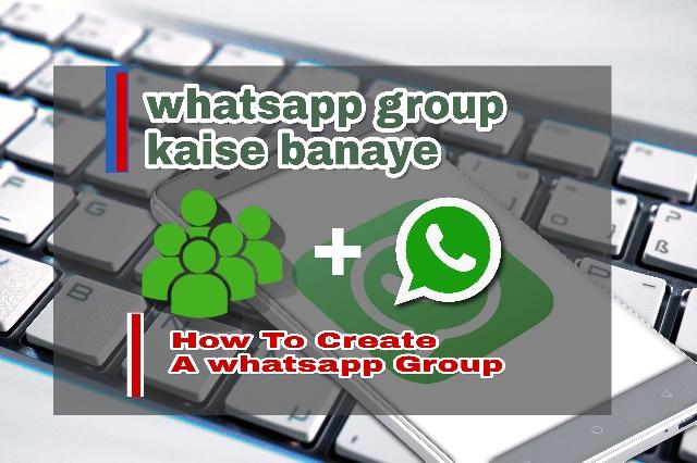 WhatsApp New Group Kaise Banaye - Kaise How