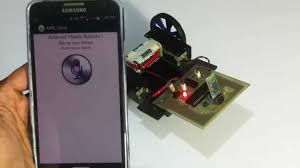 Voice Controlled Robotic Vehicle