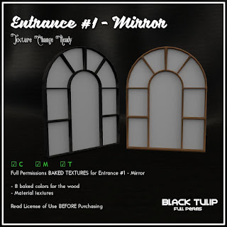 [Black Tulip] Textures - Entrance Kit #1 - Mirror