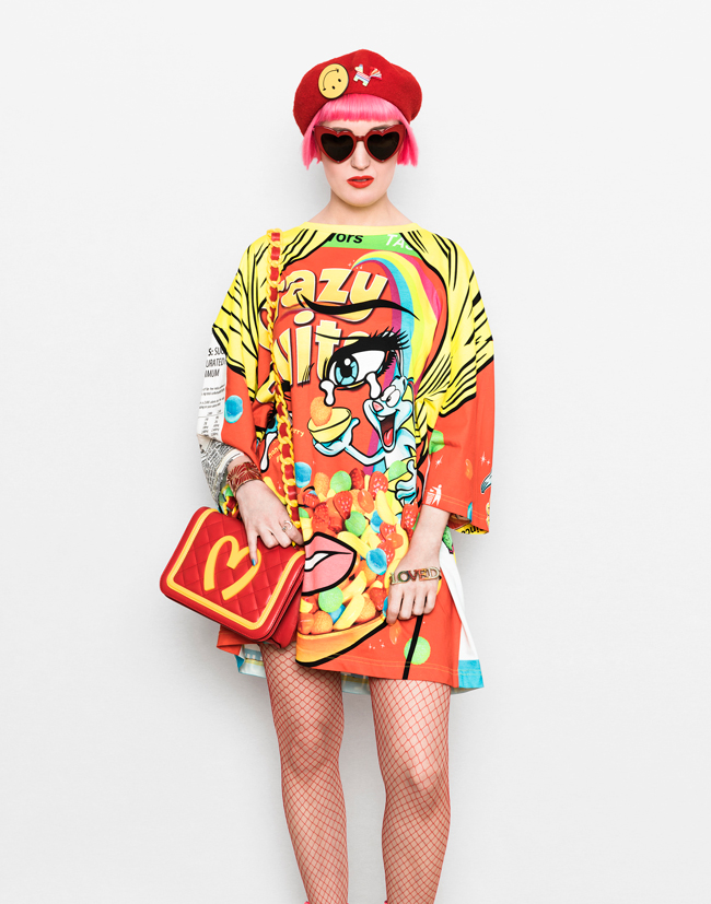 9e1234e465 Sara is in Love with: blogger self.styled Moschino Ben Frost look Self.