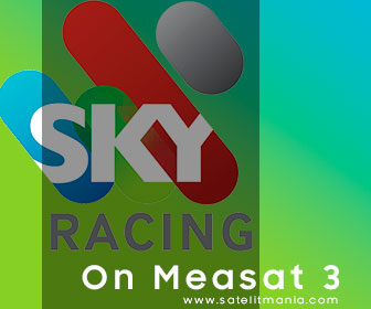 Channel Terbaru Sky Racing di Satelit Measat 3