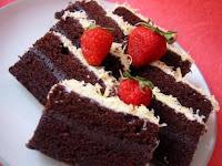 Resep Membuat Kue Coklat Strawberry Untuk Lebaran