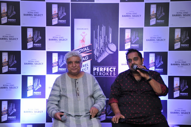 Javed Akhtar and Shankar Mahadevan unveil the art of cinematic perfection at Royal Stag Barrel Select Perfect Strokes