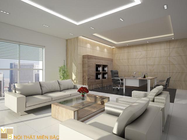 Tư vấn thiết kế nội thất phòng giám đốc đẹp - H2