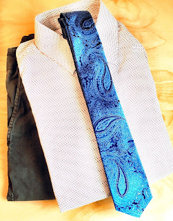 male tie fashion