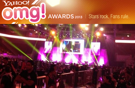 Yahoo! OMG Awards 2013