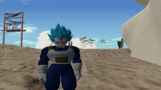 Vegeta Super Saiyan Blue Gta San Andreas