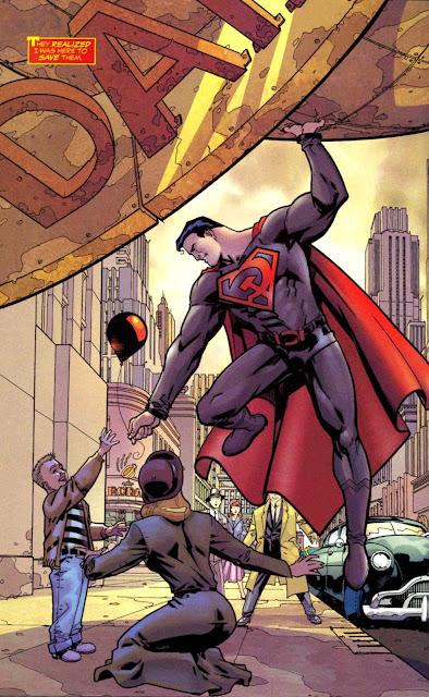 Hijo Rojo es un cómic de Mark Millar