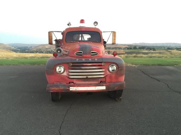 Original Ford F Firetruck