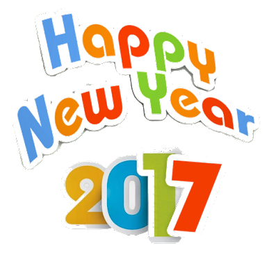 Happy New Year 2017 PNG Clipart