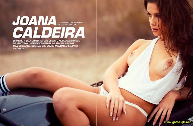 fotos de Joana Caldeira nua na Playboy Portugal