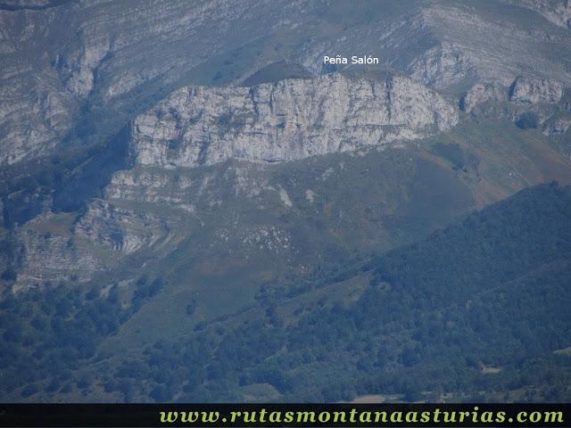 Ruta circular Taranes Tiatordos: Vista desde el Tiatordos de Peña Salón