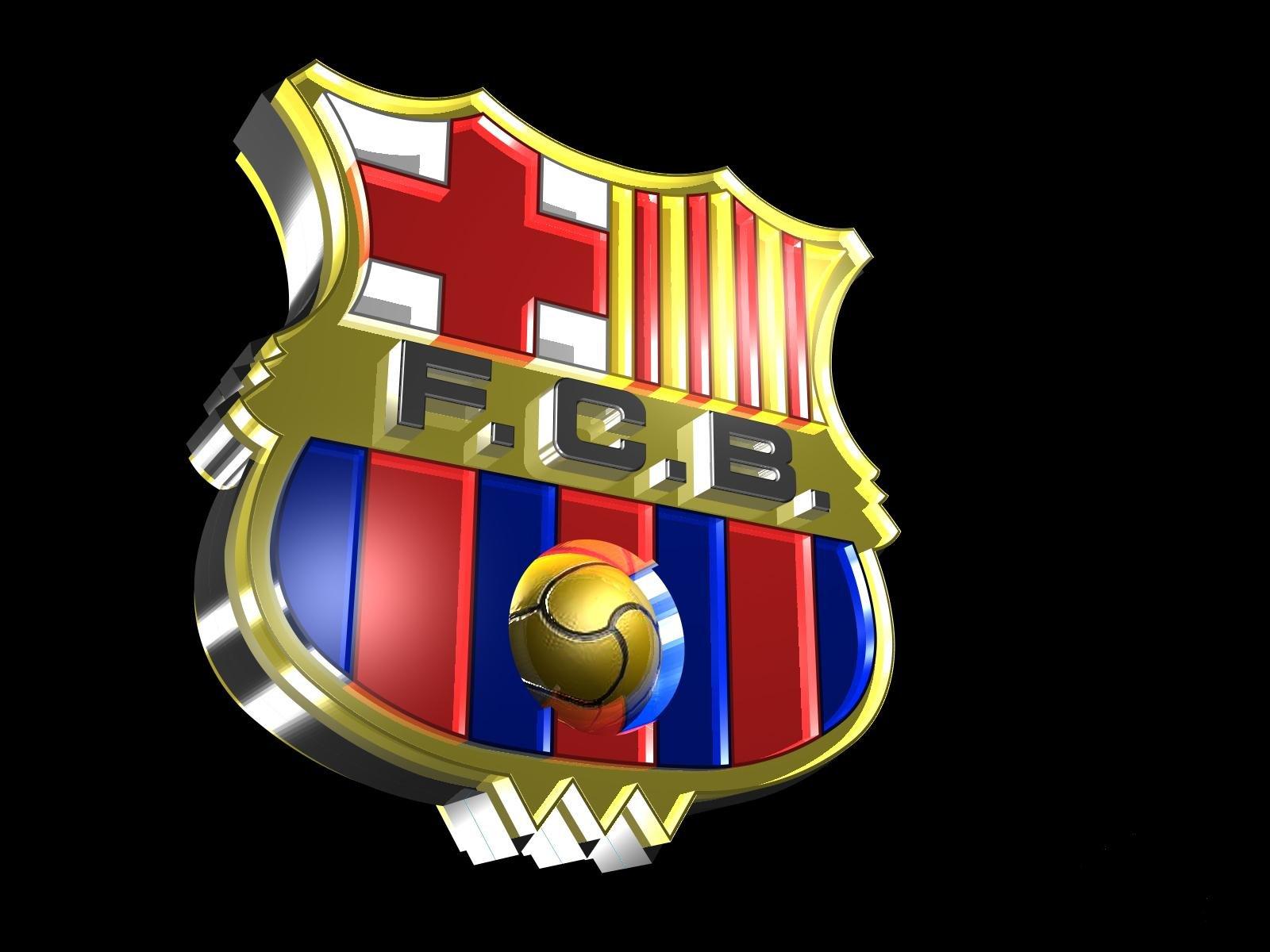 wallpapers hd for mac: Barcelona Football Club Logo Wallpaper HD
