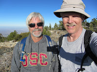 Don and Dan on Pine Mt.