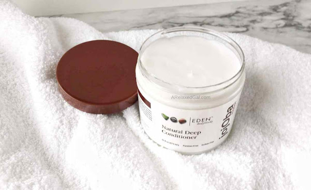 Eden BodyWorks Jojoba Monoi Deep Conditioner Review | A Relaxed Gal