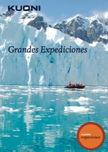 Catálogo de viajes de grandes expediciones Kuoni 2017