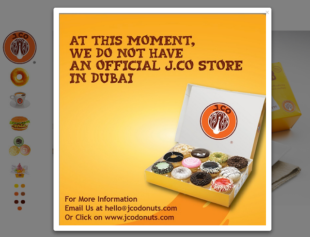 Is J.Co Donuts in Dubai fake?