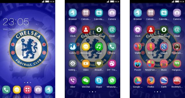 Download Tema Chelsea Android Keren & Gratis - Simpel