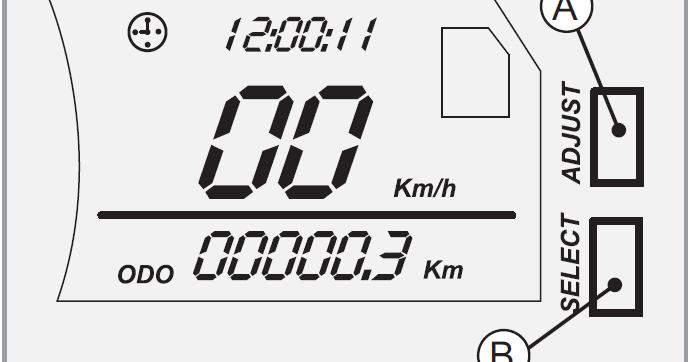 Poner en hora el reloj de la Keeway RKV ~ Keeway RKV