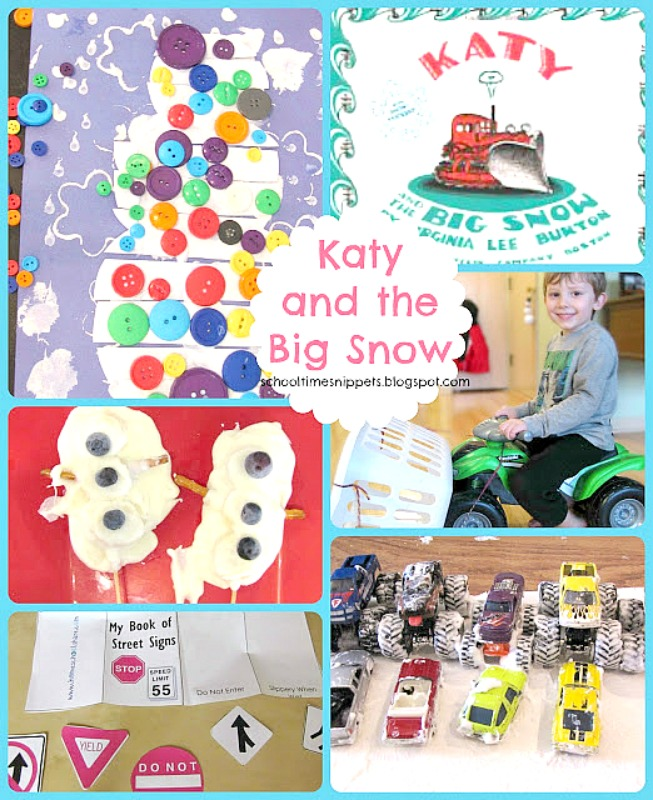 Katy and the Big Snow Activities