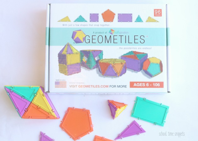 best building blocks for kids - geometiles review