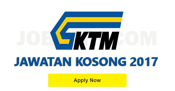Jawatan Kosong di KTMB 2017