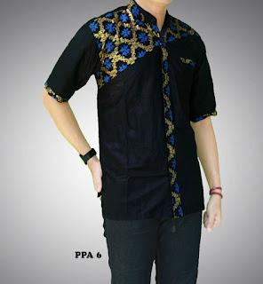 baju batik pria untuk pesta pernikahan