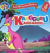 Seri Mengenal Hewan – Kangguru Kangaroo – Bilingual & Full Colour