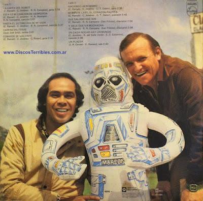 Cuarteto de Oro - La gaita del robot / Discos Terribles