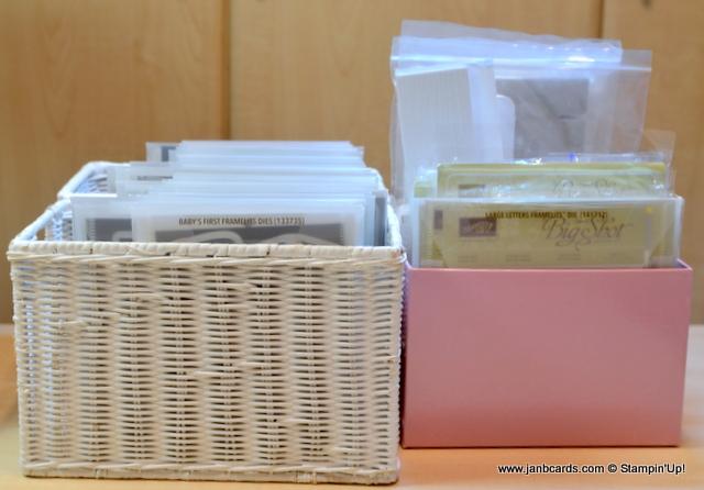 Atelier Meruru Handmade Basket : Janb handmade cards atelier stamps dies tief storage