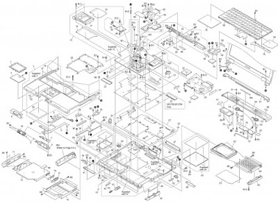 Overall Diagram Component Parts Sony Vaio