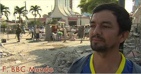 """Seísmo en Ecuador: """"Mi distrito quedó hecho restos"""""""